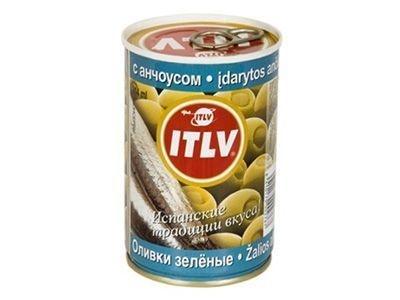 Оливки 'ITLV' с анчоусом