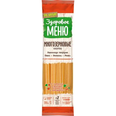 Макаронные изделия  Здоровое меню Спагетти Многозерновые в/с группа А