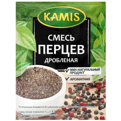 Смесь перцев Kamis дробленая