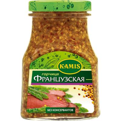 Горчица Kamis Французcкая ст/б
