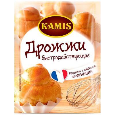 Дрожжи Kamis быстродействующие
