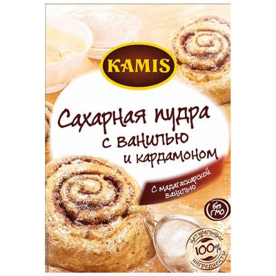 Сахарная пудра Kamis с ванилью и кардамоном
