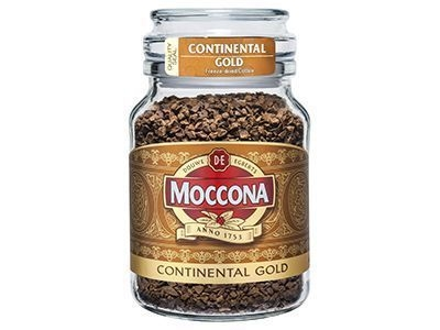 Кофе растворимый 'Moccona' Continental Gold (стек.банка)