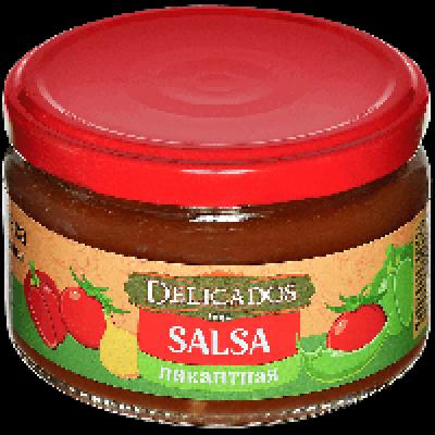 Соус овощной Delicados Сальса Пикантная