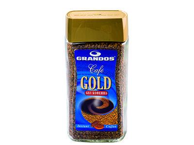Кофе Grandos Gold без кофеина кристаллы