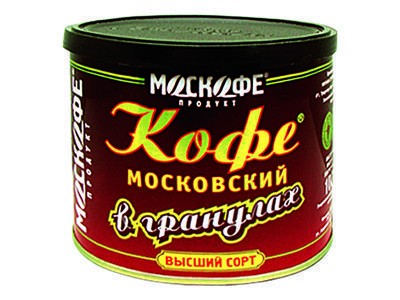 Кофе 'Московский' в гранулах