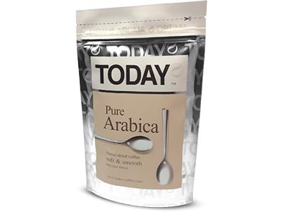 Кофе TODAY Pure Arabica натуральный сублимированный