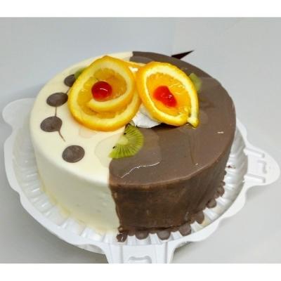 Торт Чайная Роза День-ночь