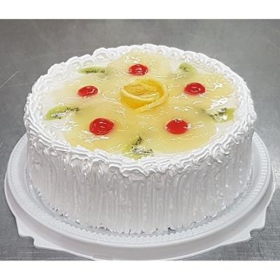 Торт Чайная Роза Йогурт-ананас