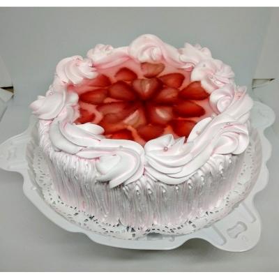 Торт Чайная Роза Йогурт-клубника