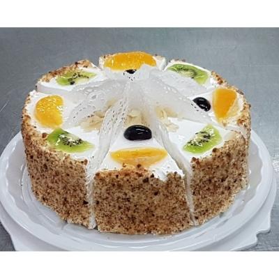Торт Чайная Роза Творожно-фруктовый