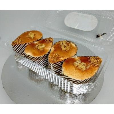 Пирожное Чайная Роза Карамельное