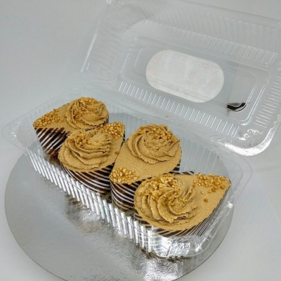 Пирожное Чайная Роза Крем-брюле