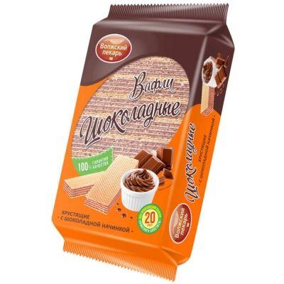 Вафли Волжский пекарь Шоколад