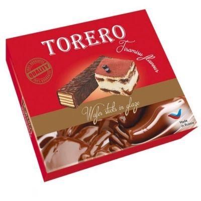 Вафли Тореро Палочка со вкусом тирамису в глазури