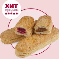 Пирожное Контек Мини язычок с вареной сгущенкой