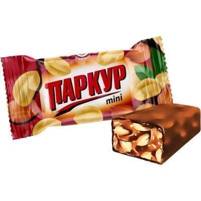 Конфеты Невский Кондитер Паркур maxi карамель с арахисом