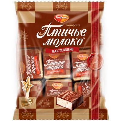 Конфеты Рот Фронт Птичье молоко сливочно-ванильное