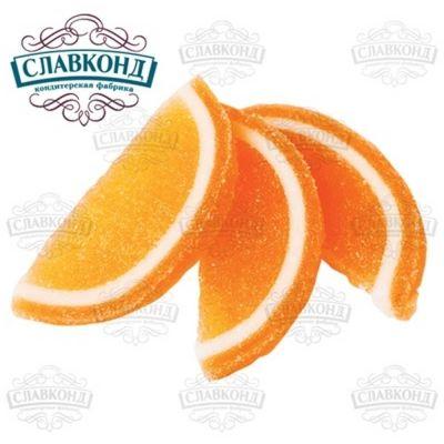 Мармелад Тверской Кондитер Дольки со вкусом апельсина