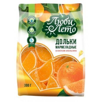 Мармелад Любилето Дольки со вкусом апельсина