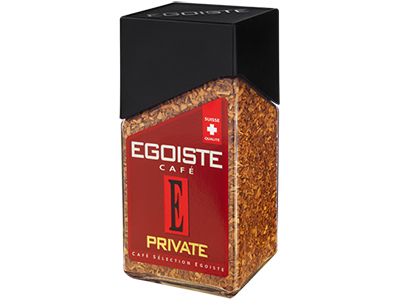 Кофе Egoiste Private кристаллы