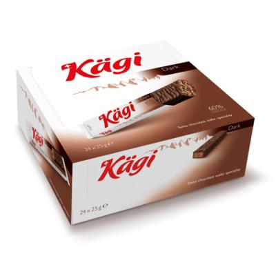 Вафли Kaegi Dark в темном шоколаде