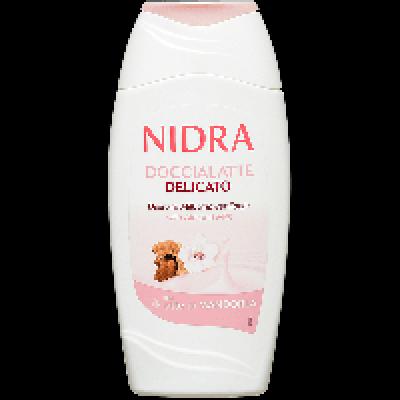 Пена-молочко для ванны Nidra с миндальным молочком деликатная