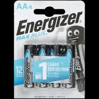 Батарейка Energizer Max Plus AA E91 Алкалиновая 1.5V 4шт