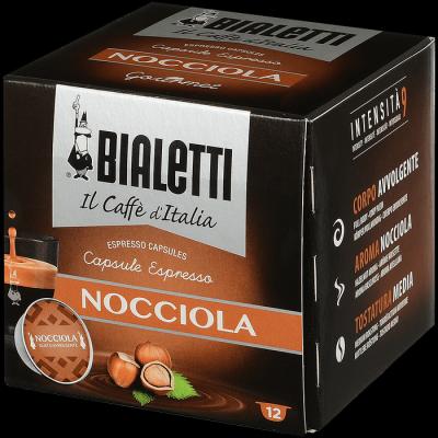 Кофе Bialetti NOCCIOLA в капсулах для кофемашин Bialetti 12шт