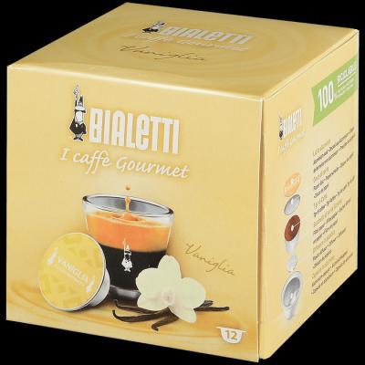Кофе Bialetti VANILLA в капсулах для кофемашин Bialetti 12шт