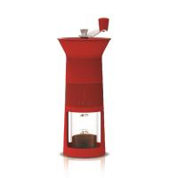 Кофемолка ручная Биалетти красная