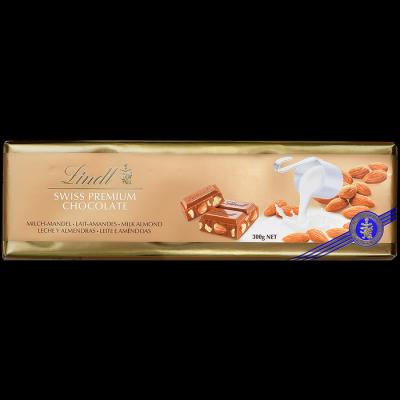 Шоколад Lindt Голд Молочный Миндаль