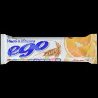 Батончик мюсли БАД Ego Апельсин с витаминами