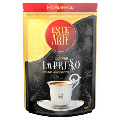 Кофе Este Arte IMPRESSO растворимый сублимированный пакет