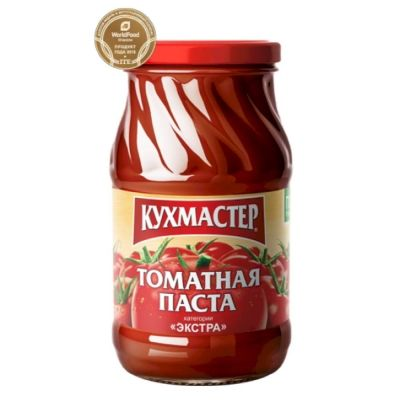 Томатная паста Кухмастер ГОСТ с/б