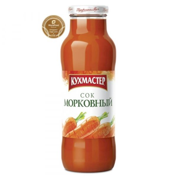 Сок Кухмастер Морковный