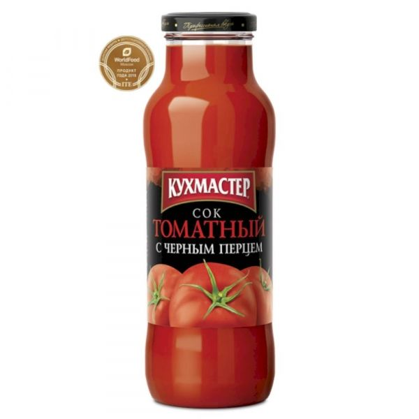 Сок Кухмастер Томатный с черным перцем