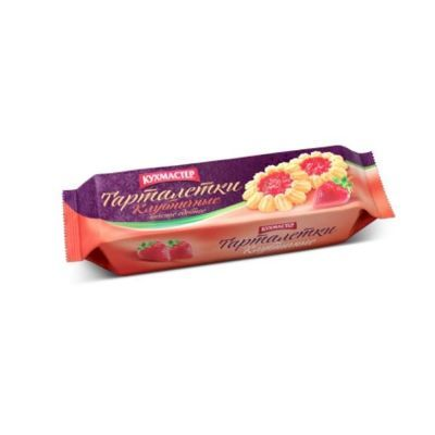 Печенье Кухмастер Клубничные тарталетки