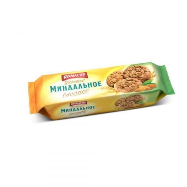 Печенье Кухмастер Миндальное овсяное