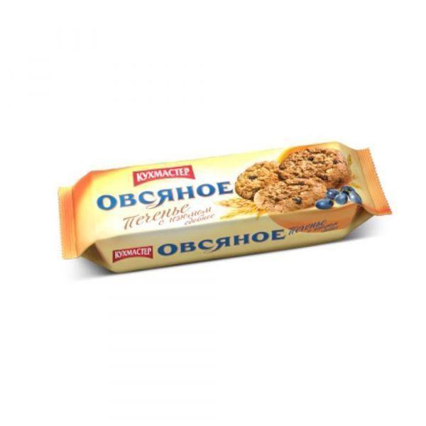 Печенье Кухмастер Овсяное с изюмом