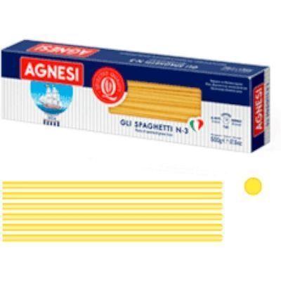 Макаронные изделия Аньези 003 Спагетти в коробке