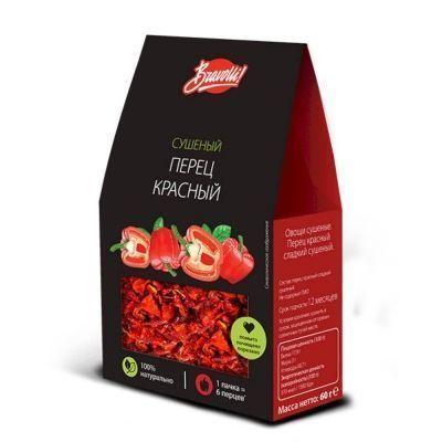 Перец красный сладкий сушеный Bravolli!