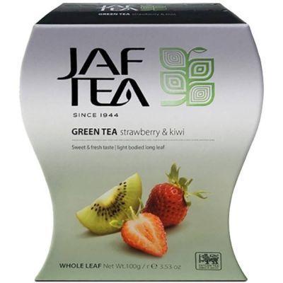 Чай зелёный Jaf Tea Strawberry+Kiwi с клубникой и киви