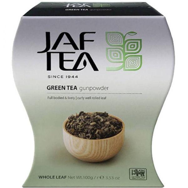 Чай зелёный Jaf Tea Gunpowder сорт Ганпаудер
