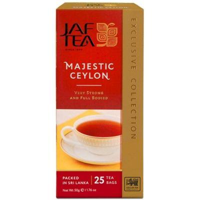 Чай чёрный Jaf Tea Majestic 25 пак.