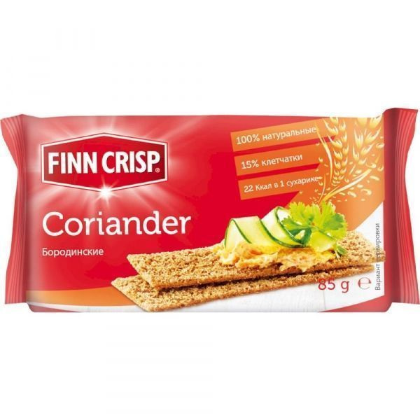 Сухарики Finn Crisp Coriander бородинские с кориандром