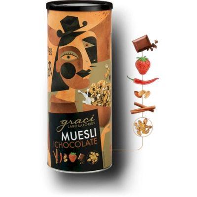 Мюсли Graci Laboratories с кусочками шоколада, клубники, кайенским перцем и корицой