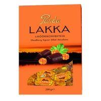 Конфеты шоколадные Panda Lakka с морошковым ликером