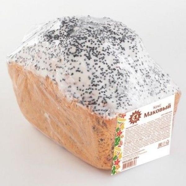 Кекс Хлебокомбинат №1 Маковый
