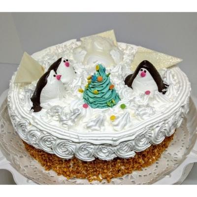 Торт Чайная Роза Арктика